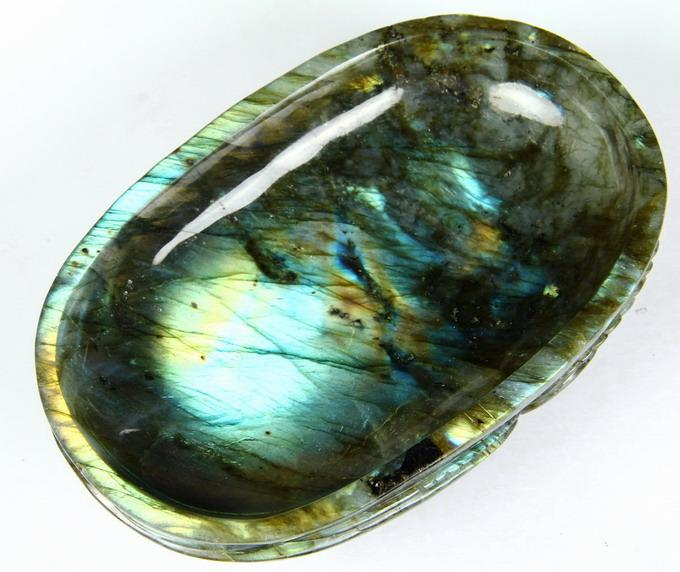 Labradorite Crystal Jewelry Box