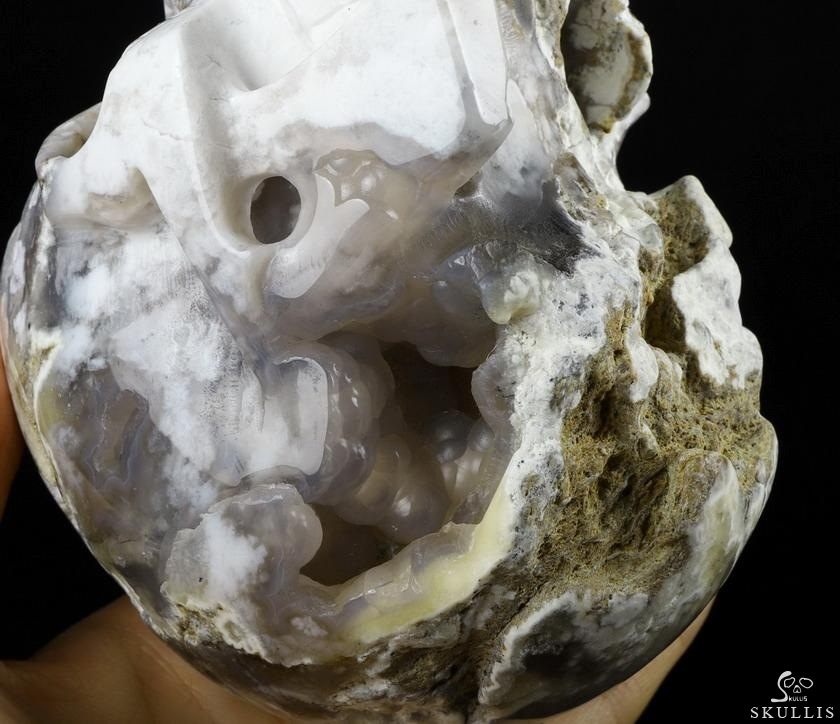 Indonesian Agate Crystal Skull