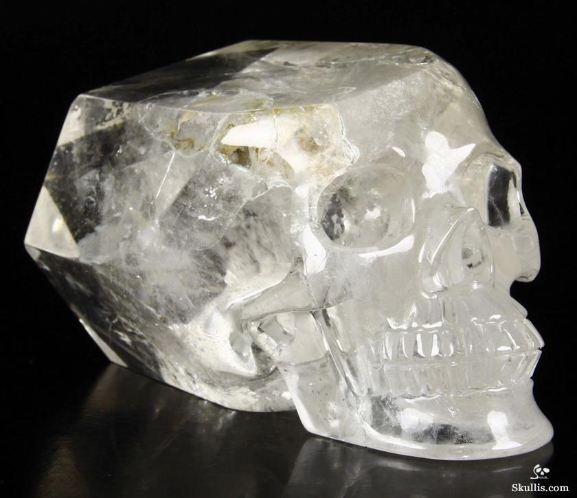 Quartz Rock Crystal Crystal Skull Wand/point