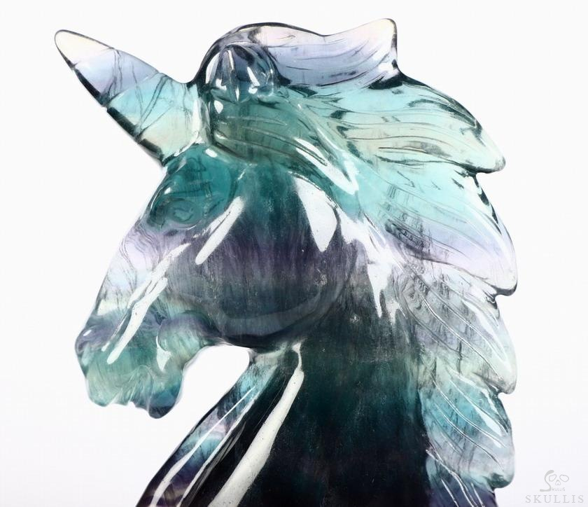 Fluorite Crystal Unicorn
