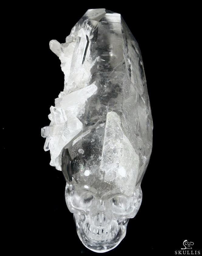 Crystal Skull with Druse
