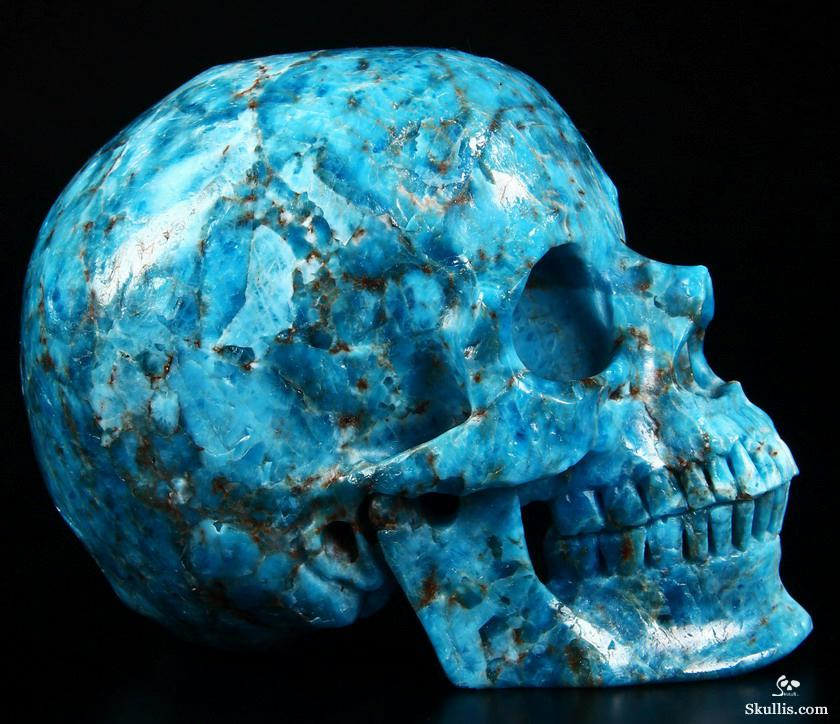 Kyanite Crystal Skull