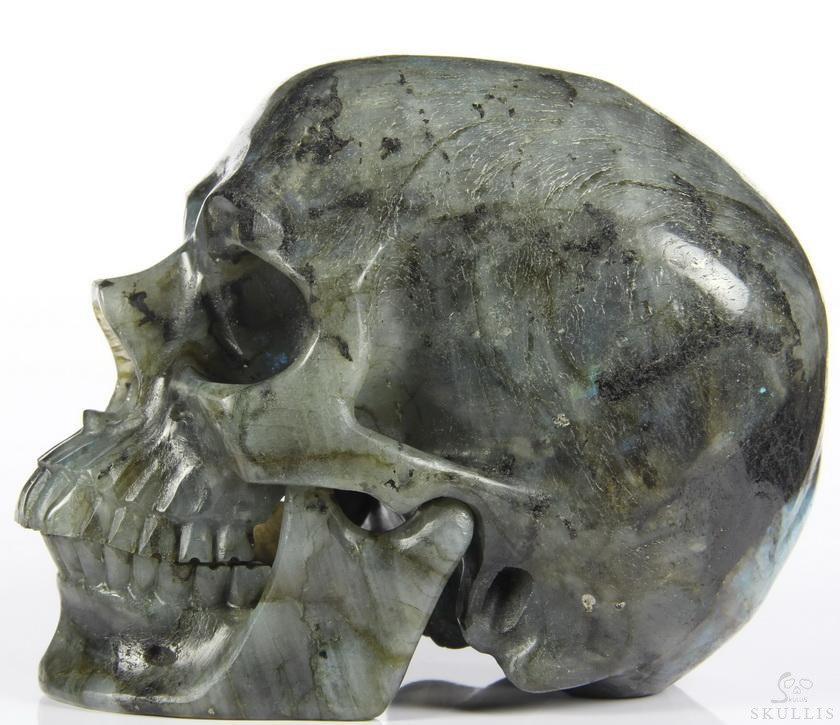 Labradorite Crystal Detachable Skulls