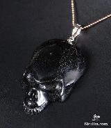 Rainbow Obsidian Carved Crystal Skull
