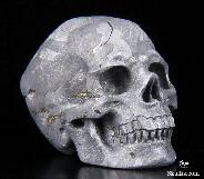 Jan 6, 2015 ACSAD (A Crystal Skull a Day) - The Stars Are Ours - Meteorite Carved Crystal Skull Sculpture