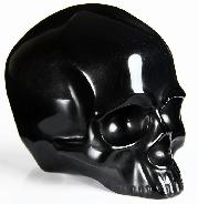 Apr 16, 2015 ACSAD (A Crystal Skull a Day) - Crystal Skull of Tranquility - Black Obsidian Carved Crystal Skull without Jaw Sculpture