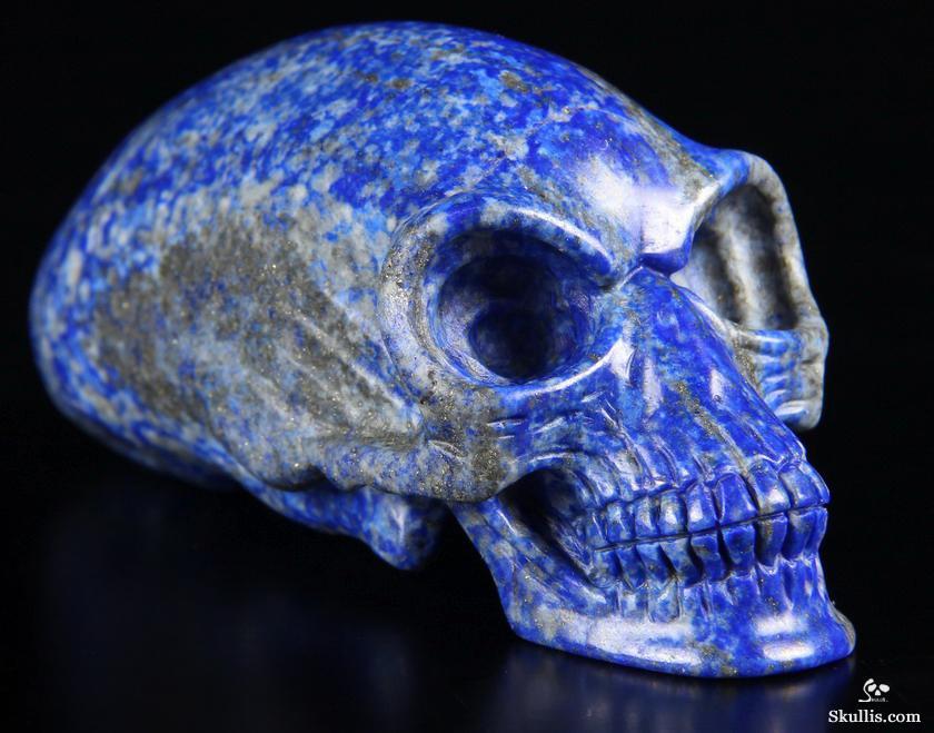 Gemstone Huge 4 1 Quot Lapis Lazuli Carved Elongated Mayan