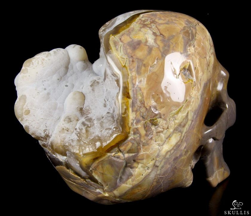 Lifesized quot dinosaur egg agate carved crystal geode
