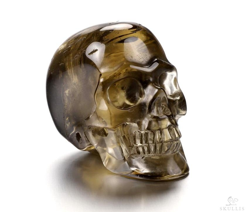 Smoky Quartz Rock Crystal Crystal Skull