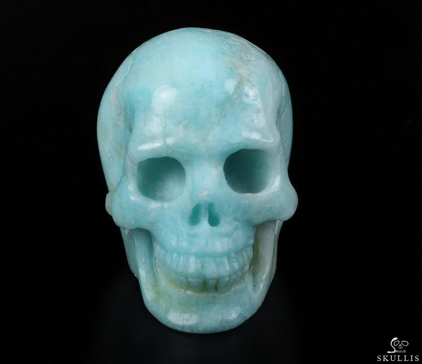 Amazonite Crystal Skull