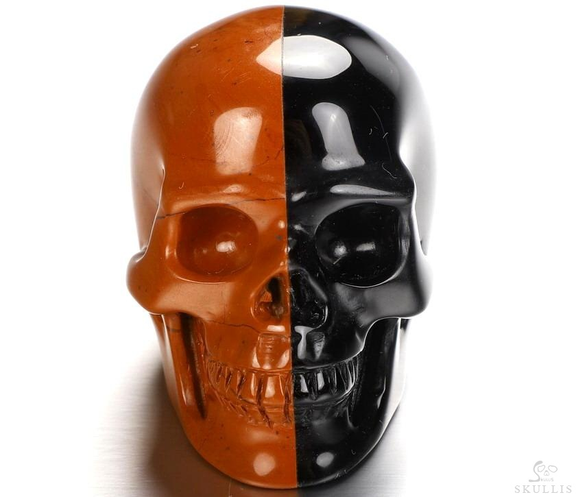 Red & Black Crystal Skull