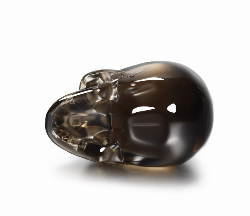 Dark Smokey/Smoky Quartz Rock Crystal Crystal Skull