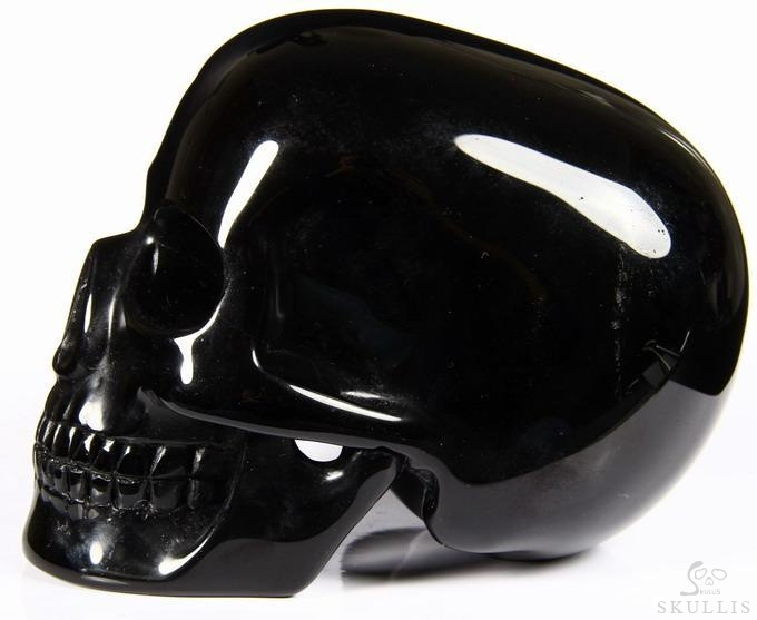 Black Obsidian Mitchell-Hedges Crystal Skull Replica