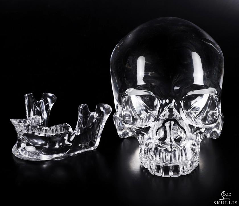 K9 CRYSTAL Crystal Detachable Skulls