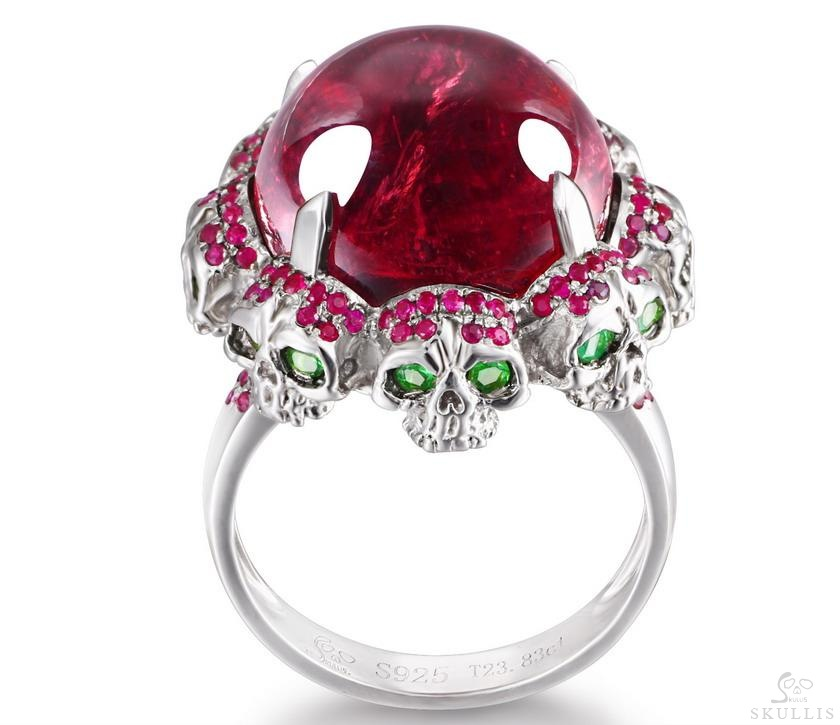 Ruby Crystal Skull