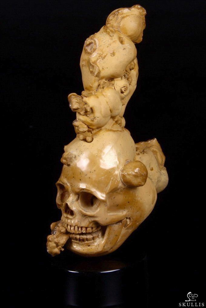 July 16, 2014 ACSAD (A Crystal Skull a Day) - Punk Skull