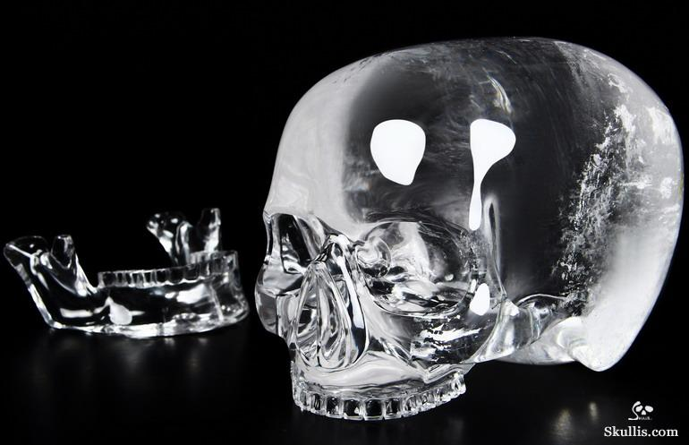 Quartz Rock Crystal Crystal Mitchell-Hedges Skull