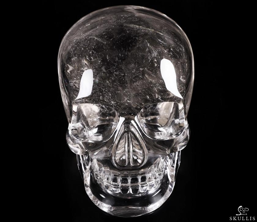 SMOKY Quartz Rock Crystal Crystal MH Skull Replicas, Detachable Skulls