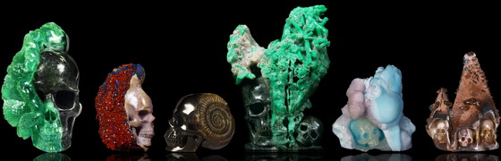 Mineral Specimen Sculptures: Beauty of Nature + Art of Man