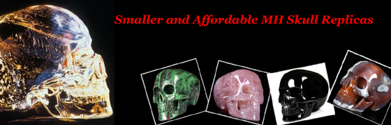 Skullis Presents New Mitchell-Hedges Crystal Skull Replicas