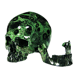 Detachable Crystal Skulls